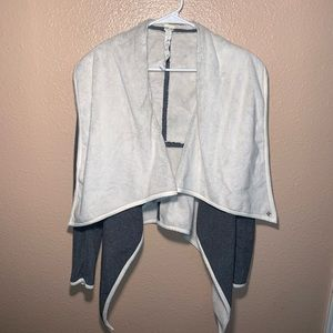 Lululemon Presence Of Mind Drape Fleece Lined Wrap